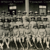5th provisional company officers reserve, training camp ft des moines iowa, 1917.
