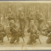 African American Combat Soldiers in France, c. 1918-1919